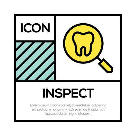 INSPECT ICON CONCEPT