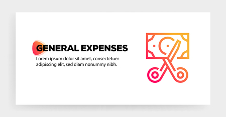 GENERAL EXPENSES ICON CONCEPT