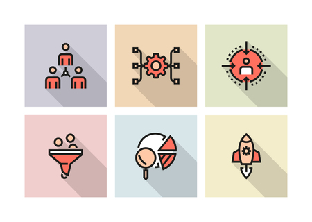 PRODUCT MANAGEMENT ICON CONCEPT