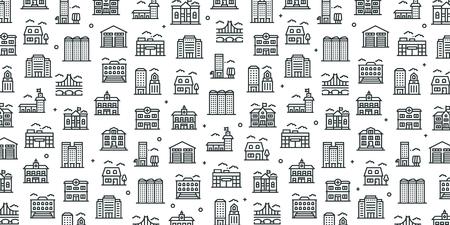 BUILDINGS BANNER CONCEPT