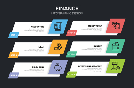 FINANCE INFOGRAPHIC DESIGN