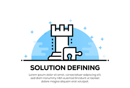 SOLUTION DEFINING ICON CONCEPT