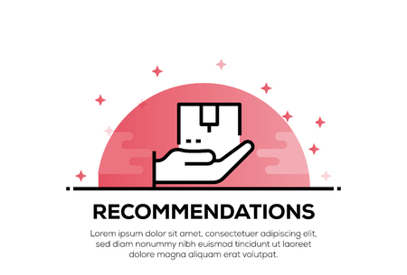 RECOMMENDATIONS ICON CONCEPT