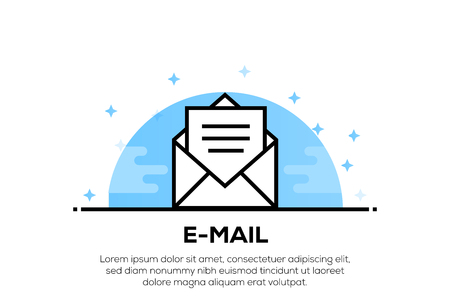 E-MAIL ICON CONCEPT