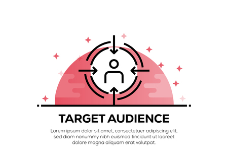 TARGET AUDIENCE ICON CONCEPT