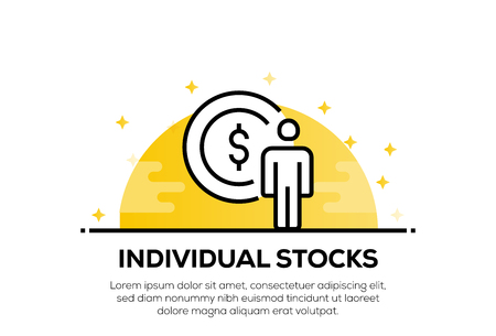 INDIVIDUAL STOCKS ICON CONCEPT