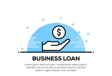 BUSINESS LOAN ICON CONCEPT
