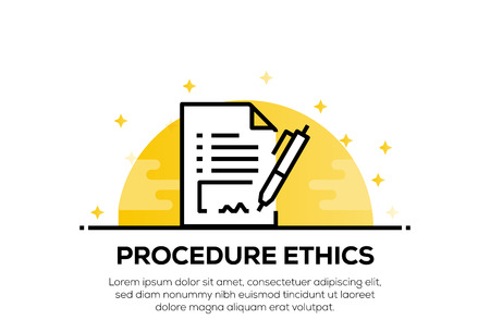 PROCEDURE ETHICS ICON CONCEPT