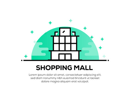 SHOPPING MALL ICON CONCEPT