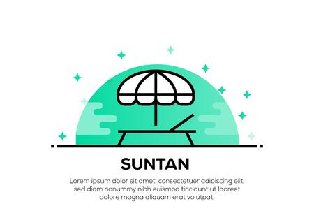 SUNTAN ICON CONCEPT