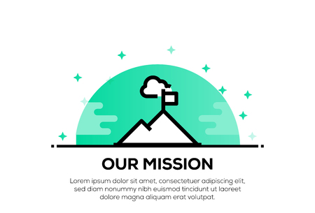OUR MISSION ICON CONCEPT