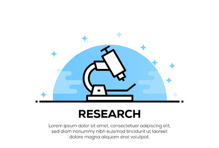 RESEARCH ICON CONCEPT