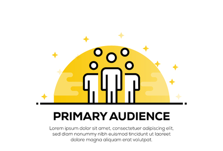 PRIMARY AUDIENCE ICON CONCEPT