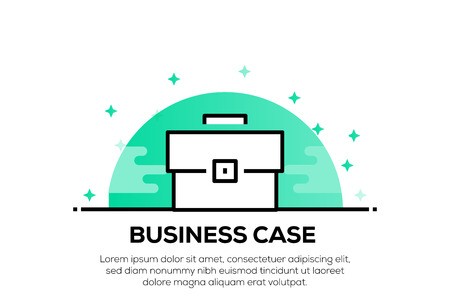 BUSINESS CASE ICON CONCEPT