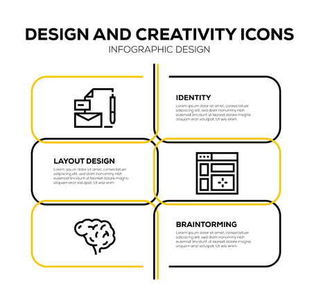 DESIGN AND CREATIVITY ICON SET