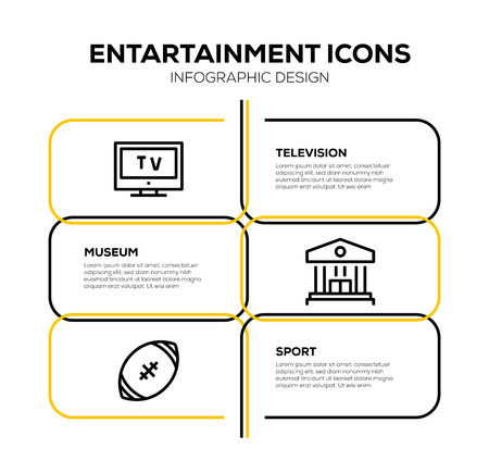 ENTARTAINMENT ICON SET