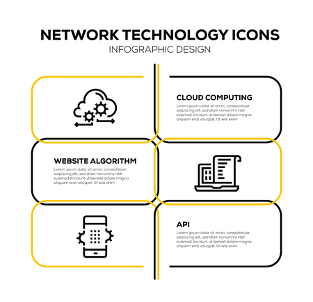 NETWORK TECHNOLOGYICON SET
