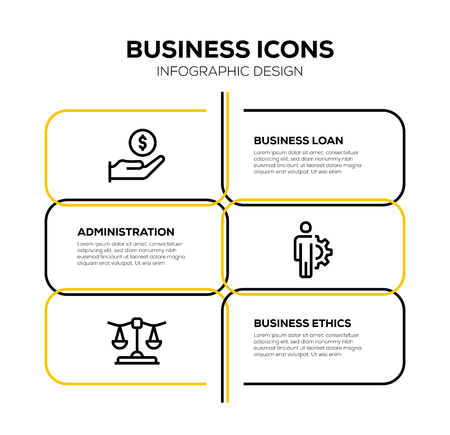 BUSINESS ICON SET Vectores
