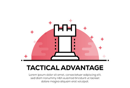 TACTICAL ADVANTAGE ICON CONCEPT Stok Fotoğraf - 122457863