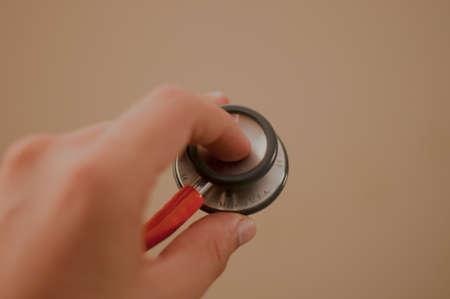 medico: Acto medico Stock Photo