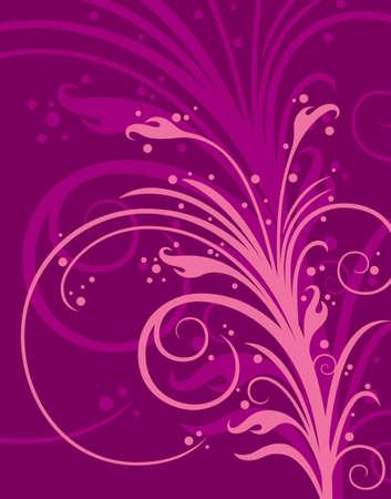 material flower: pattern