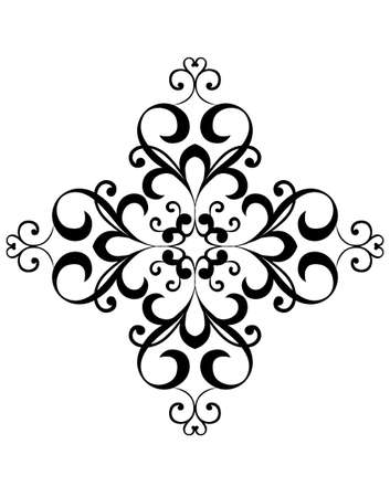 floral ornaments: pattern