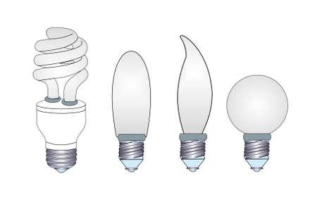 halogen lighting: Set bulbs
