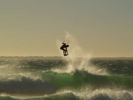 kite surf: Kitesurfing