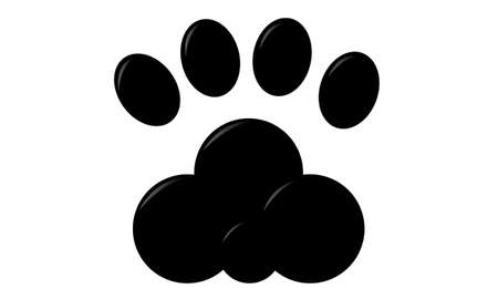 dog paw Stock Vector - 20300361