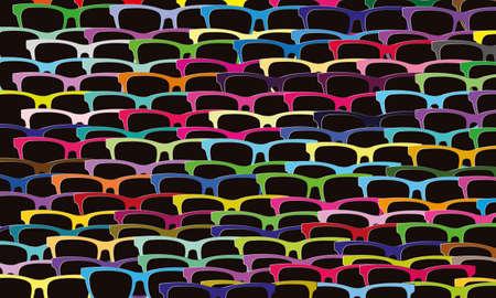 multitude: muchos vasos
