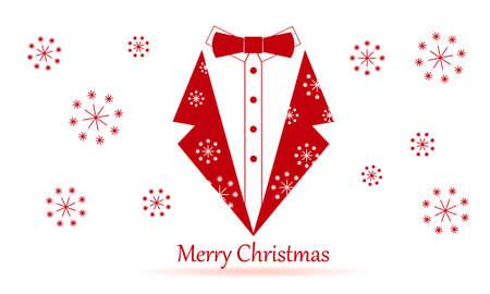 inovation: conservative merry christmas Illustration