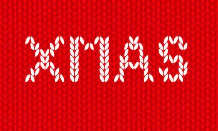 textura lana: xmas textura de lana de fondo Vectores