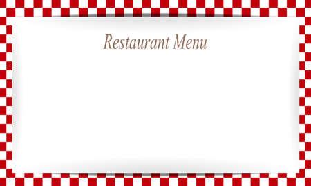 gastronome: restaurant menu Illustration