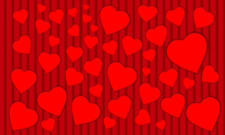 eagerness: Valentines Day hearts