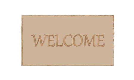 doorstep: welcome background