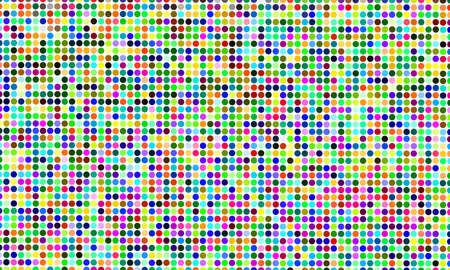 technologic: vector background color dots