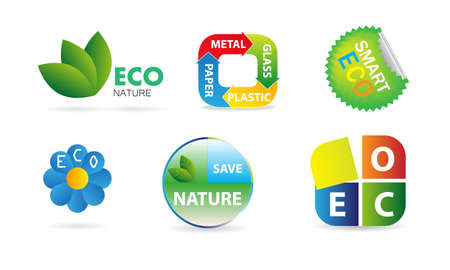 vector ecology icons Vector