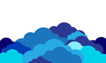 preasure: blue clouds