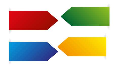 vector color arrows Vector