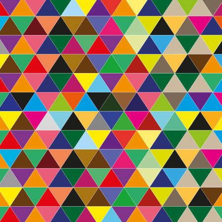 work popular: color triangle background Illustration