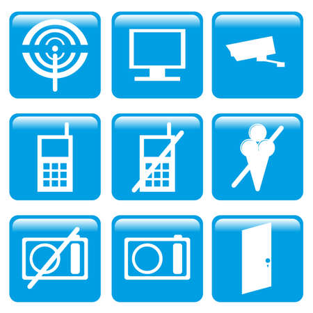 mobil phone: informations icon