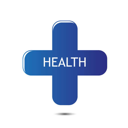 Tag health plus  Stock Vector - 29819254