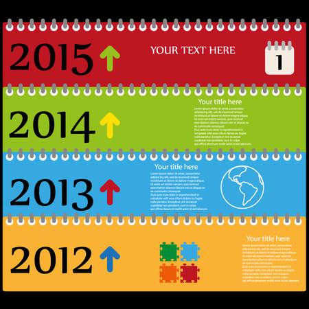 zeitlos: Zeitlose Web-Farbe-Vorlage