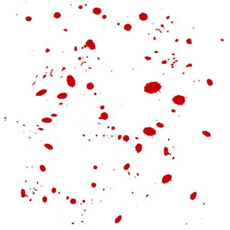 carefulness: drops blood background