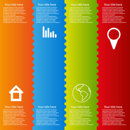 modules: infographic color template