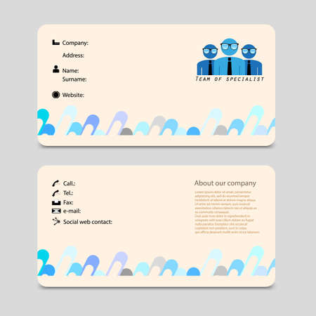 sure: advertising business card