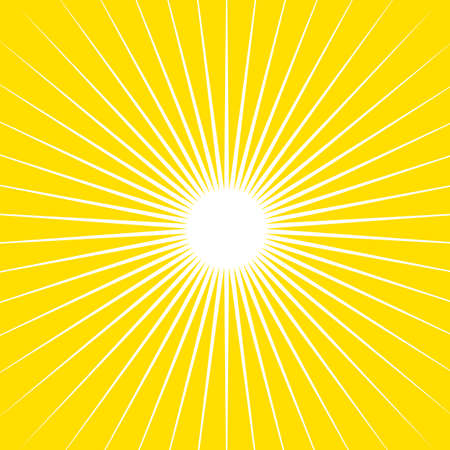 background  yellow: vector sunny background