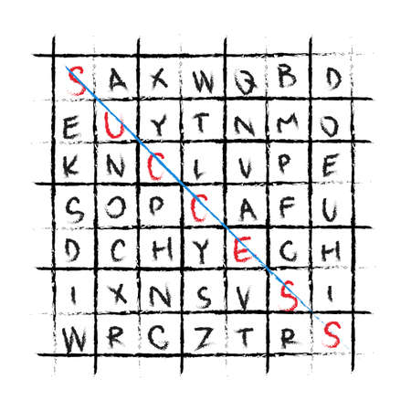 response time: vector success drawing wordfind crossword