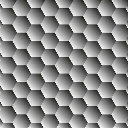 abstrat hexagon dark background Vector