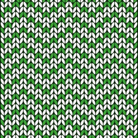 wool green and white color texture